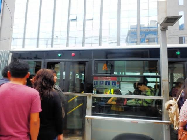 リマ市内移動はメトロポリターノに乗って