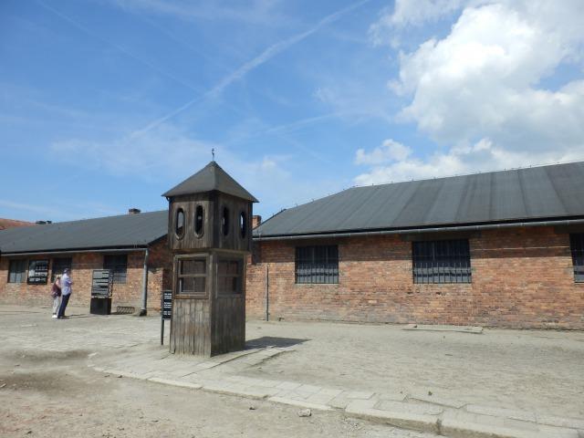 オシフィエンチム アウシュヴィッツ強制収容所3 死の壁